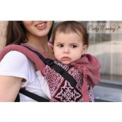 BabyMonkey Agilo ергономична раница Decoro - размер Toddler (15-36 месеца)