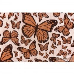BabyMonkey Regolo ергономична раница Butterfly оранжево (регулируема)