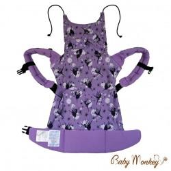 BabyMonkey Regolo ергономична раница Dancing Fairy лилаво (регулируема)