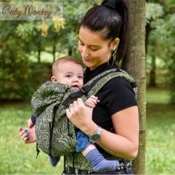 BabyMonkey Regolo ергономична раница Mehindi зелено (регулируема)