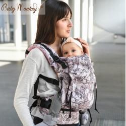 BabyMonkey Regolo ергономична раница Unicorns glitter pink (регулируема)