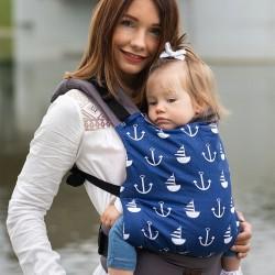 Ергономична раница Kinder Hop Basic - Marine