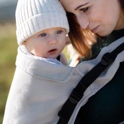 Ергономична раница Kinder Hop Multi Grow - Little Herringbone Ecru