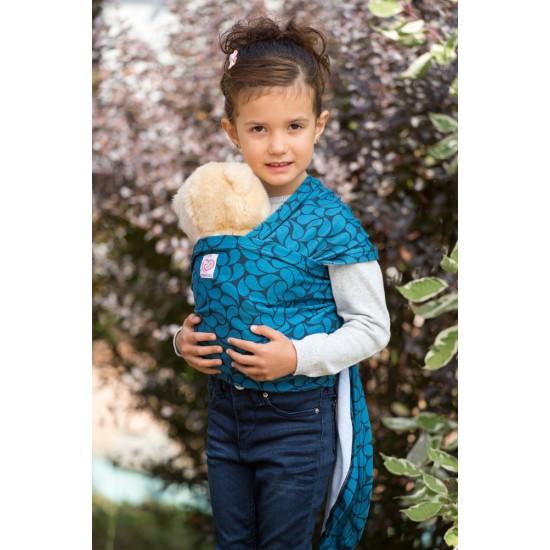 Слинг за кукли - Blue Petals