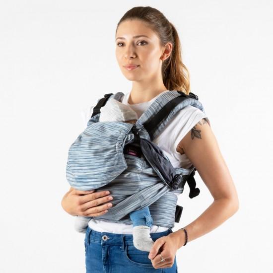 Ергономична раница Emeibaby Full Degrate - размер бебе (регулируема)
