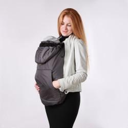 Зимно покривало за бебеносене 2 в 1 Nashsling - Графит