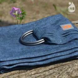 Слинг с халки (ринг слинг) Nashsling - Jeans (100% лен)